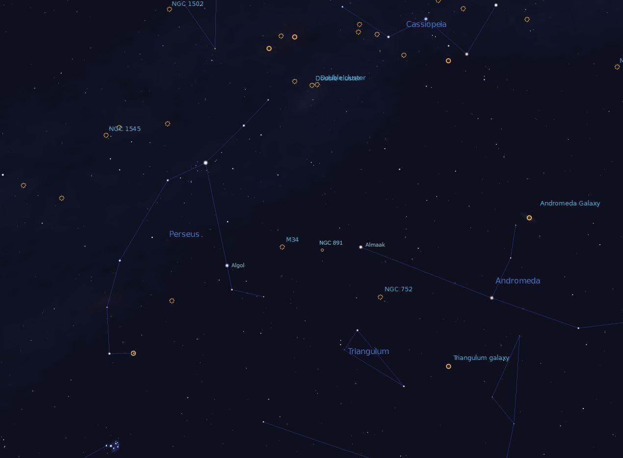 Perseus Region November 2015